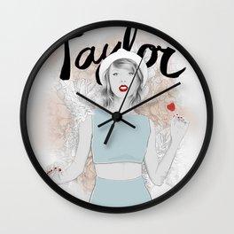 Tay Tay Swift Wall Clock