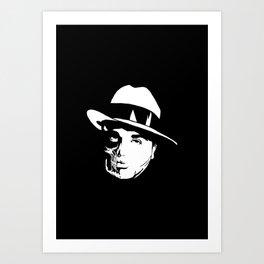 Al Capone Skull Art Print
