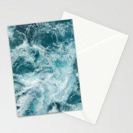 Ocean foam Stationery Cards