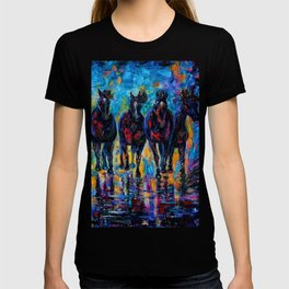 Roaming Free by OLenaArt/ Lena Owens T-shirt
