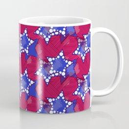 Blue Ankara Stars Coffee Mug