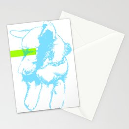Brave, the dog Stationery Cards
