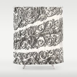 Doorway - Notre Dame Cathedral, Paris, France 2015 Shower Curtain