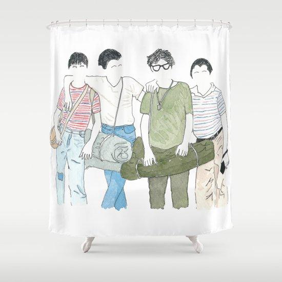 Still Standing Shower Curtain By DJayK