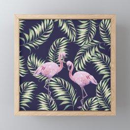 Flamingos #society6 Framed Mini Art Print