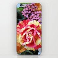 hocus pocus iPhone & iPod Skins featuring Hocus Pocus Rose by Joke Vermeer