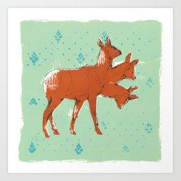 Trideer Art Print