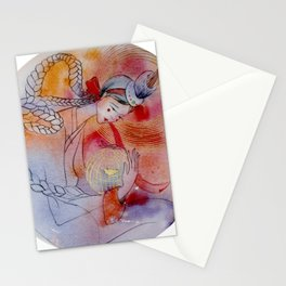 Super Blue Blood Moon Stationery Cards