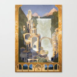The Elven Refuge Canvas Print
