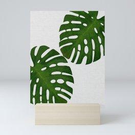 Monstera Leaf II Mini Art Print