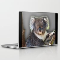koala Laptop & iPad Skins featuring Koala by SwanniePhotoArt