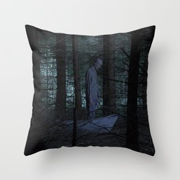 Go to the woods. Throw Pillow