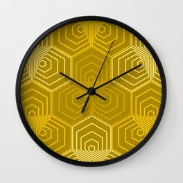 Op Art 43 Wall Clock