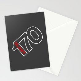 170 Slant 6 - Wedge Stationery Cards