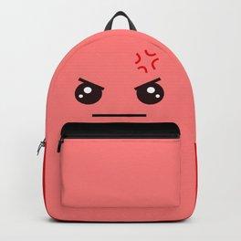 ANGRY! Kawaii Face (Check Out The Mugs!) Backpack