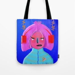 Funky Beats Tote Bag