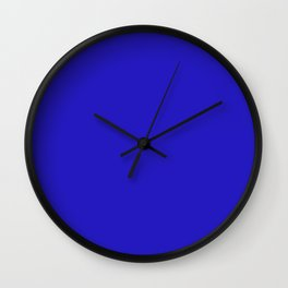 International Klein Blue - IKB Wall Clock