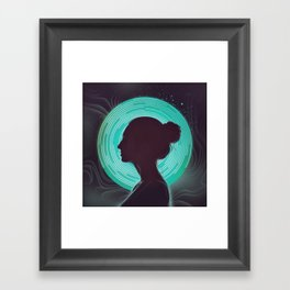 Delta Waves Framed Art Print