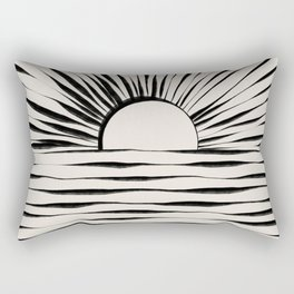 Minimal Sunrise / Sunset Rectangular Pillow
