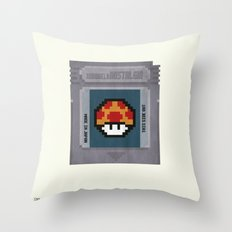 Nostalgia in a GameBoy Cartridge Throw Pillow