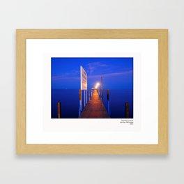 Wealthwood Dock Framed Art Print