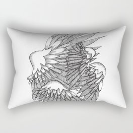 Wing Night Rectangular Pillow