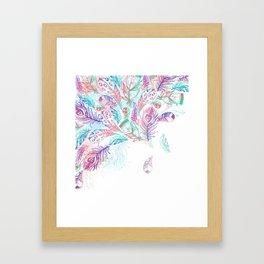 Bohemian Rain Framed Art Print