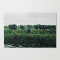 WIND BIKE WATER RAIN Canvas Print