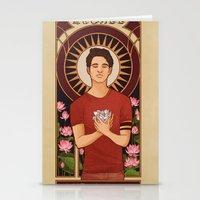 michael scott Stationery Cards featuring Scott by callahaa