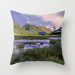 Crested Butte Sunrise Throw Pillow