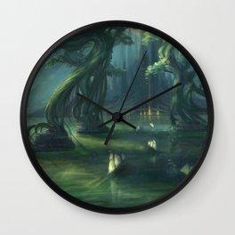 The Lake of Latharos Wall Clock
