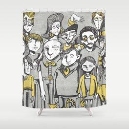 Respect Shower Curtain