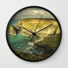 Godrevy Seascape  Wall Clock