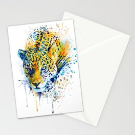 Lurking Leopard Stationery Cards