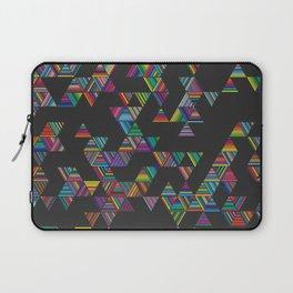Rainbow Night Rain Laptop Sleeve