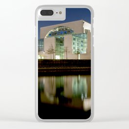Nocturnal landscape of Berlin Clear iPhone Case