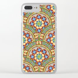 Westminster Mandala Allover Clear iPhone Case