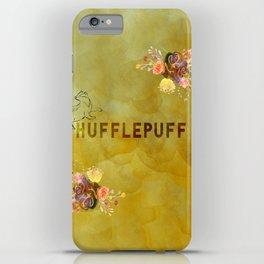 Hufflepuff iPhone Case