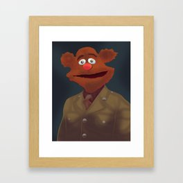 Sir Fozzie Framed Art Print