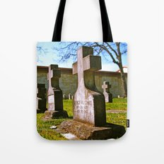 Crosses of memory Tote Bag