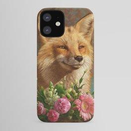 01. Fox in Love iPhone Case