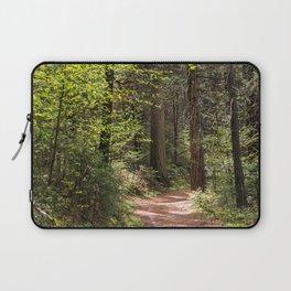 Forest Trail - Yosemite's Wawona Loop Trail Laptop Sleeve