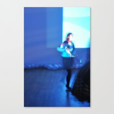 Blue Screen Canvas Print
