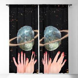 Saturn Disco Blackout Curtain