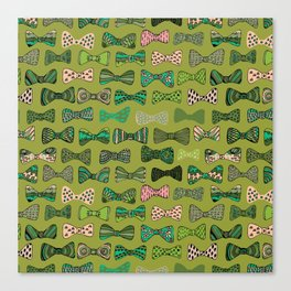 Bow ties Canvas Print