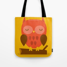 Super Cute Woodland Creatures Owl Tote Bag