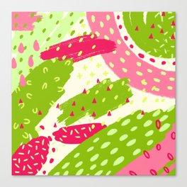 Neon Fun 3 Canvas Print