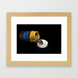 Almond Mouse Framed Art Print