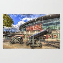 Arsenal FC Emirates Stadium London Rug