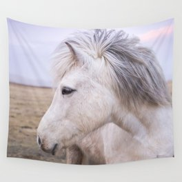 White Beauty Wall Tapestry